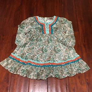 Vintage Couture Paisley Top